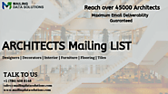 Architects Mailing List