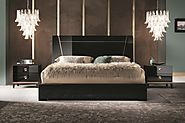 Mont Noir Contemporary Bedroom Collection by Alf Da Fre