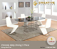 Chintaly Abby 5 Piece Dining Room Set