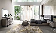 Contemporary Olympia Bedroom Collection