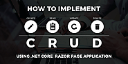 ASP.NET Core: Create Razor Page Web Application with CRUD Operations Tutorial