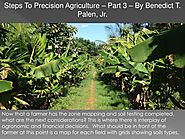 PPT - Steps To Precision Agriculture – Part 3 – By Benedict T. Palen, Jr. PowerPoint Presentation - ID:8079534