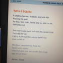 "Audioboo / ""Tutto e Sciolto"" - poem by James Joyce - read by Paul O'Mahony #bloomsday"
