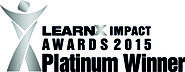G-Cube wins LearnX Impact Award 2015 in Best Learning Design - Mobile App category