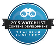 G-Cube features in Training Industry Inc's Top 20 Content Development Companies Watch List 2015