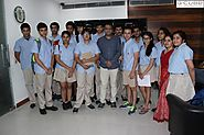 Young Aspirants visit G-Cube for an Inspirational Chat with CEO Manish Gupta