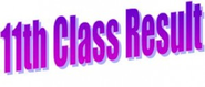 BISE 11th Class Result 2014