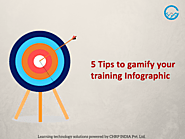 5 Tips to gamify your training infographic - CHRP-INDIA