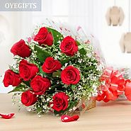 Send Flowers to Gurgaon: Online Flower Delivery Same Day from Top Florist | OyeGifts®