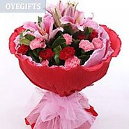 Send Celebration Of Love Online Same Day Delivery - OyeGifts.com