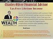 Charles Oliver Financial Advisor - Tax-Free Lifetime Income