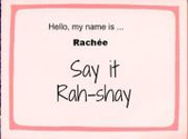 Say it Rah-shay