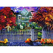 Halloween House Jigsaw Puzzle - Puzzle Haven