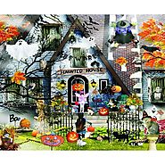 Haunted House Halloween Jigsaw Puzzle - Puzzle Haven