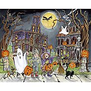 Little Goblins Halloween Jigsaw Puzzle - Puzzle Haven