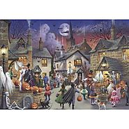 Jumbo Halloween Jigsaw Puzzle - Puzzle Haven