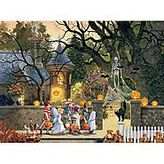Friends on Halloween Jigsaw Puzzle - Puzzle Haven