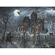 Uninvited Guest Halloween Jigsaw Puzzle - Puzzle Haven