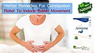 Herbal Remedies for Constipation Relief to Induce Bowel Movement