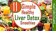 11 Simple Liver Detox Smoothies to Reverse Fatty Liver Disease