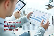 Finance and Banking Industry Mailing List
