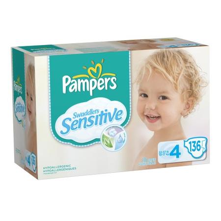 Pampers Sensitive Size 4 Diapers Best Deals Bulk All