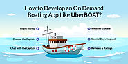 How to Develop an On Demand Boating App Like UberBOAT?