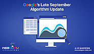 What Is The Late September Algorithm Update From Google?