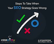 How To Save The Situation When Your SEO Goes Wrong?
