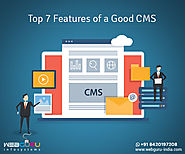 Top 7 Features of a Good CMS to Enhance Your Web Development - TechDirectory Member Article By WebGuru Infosystems Pv...