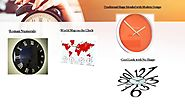 Bring Moderation in your Room with the Exemplary Wall Clocks from USA