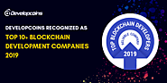 Developcoins Recognized as Top 10+ Blockchain Development Companies 2019