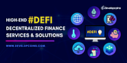 Decentralized Finance (DeFi) Services and Solutions
