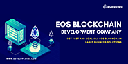 EOS Blockchain Development Company| Developcoins