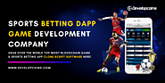 Sports Betting DApp Game Development Company | Sports Betting Clone Script Software