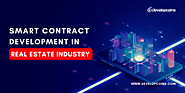 Smart Contract Development in Real Estate Industry | Developcoins