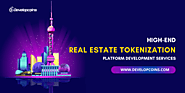 Real Estate Tokenization |Real Estate Token Development Company | Real Estate Backed Token Development - Developcoins