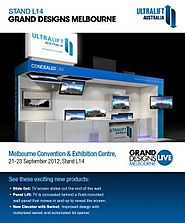 See you at Grand Designs Melbourne Stand L14!