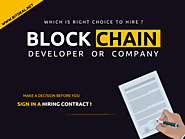The Benefits of Hiring a Dedicated Blockchain Developer