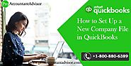 Steps to Setup a New Company File in QuickBooks Desktop [Overview]