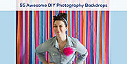 Blog, Resources | 55 Awesome DIY Photography Backdrops | Photographypla.Net