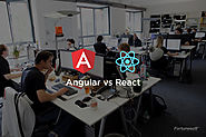Angular vs React : A Detailed Comparison - Fortunesoftit