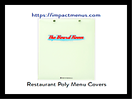 Discount Menu Covers and Clipboards | Menu Holders for Restaurants: impactmenus