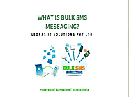 What is bulk sms services