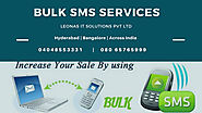 Bulk sms services Bangalore | leonas.in/bulkSMS.php If you a… | Flickr