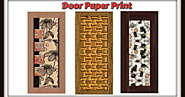 Best Quality Products of Door Paper Print