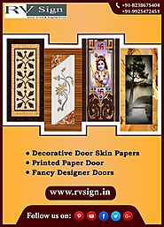 Digital Door Paper Print from RV Sign in Ahmedabad