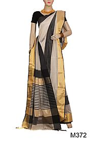 Shop Silk Cotton Saree Online with Great Offer