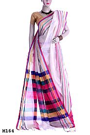 Get Your Silk Cotton Saree for This Puja Online