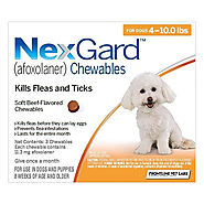 Nexgard for Dogs - Flea and Tick Treatment Chews